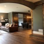 luxury basement finishing