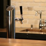 Basement Finish- Basement Bar Tap
