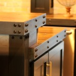 Custom details- decorative counter top rivets