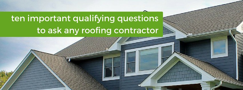 10 questions for roofing contractor