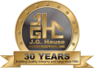 JG Hause Construction - 30 Yrs of Service